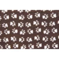Фотография товара Лежак для собак и кошек ProFleece Ltd, размер 100х160см., шоколад/крем