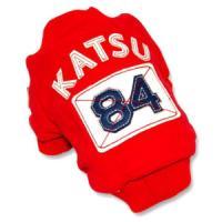 Фотография товара Куртка для собак Katsu Фан клуб 84 L L, 270 г, размер 34х50х30см., красный