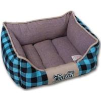 Фотография товара Лежак для собак и кошек Katsu Легенда S S, 1.5 кг, размер 45х35х21см., синий