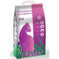 Фотография товара Наполнитель для туалета Homecat 3, 3 кг