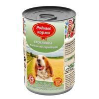 Фотография товара Корм для собак Родные корма Скоблянка мясная по-городецки, 970 г