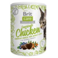 Фотография товара Лакомство для кошек Brit Care Superfruits Chicken, 120 г, курица