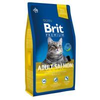 Фотография товара Корм для кошек Brit Premium Cat Adult Salmon, 8 кг, лосось