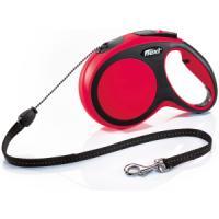 Фотография товара Поводок-рулетка для собак Flexi New Comfort M Cord, красный