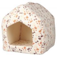 Фотография товара Домик для кошек и собак Trixie Lingo, размер 40x40x45см., белый / бежевый
