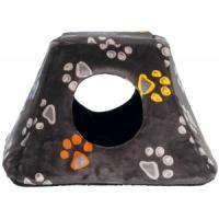 Фотография товара Домик для кошек и собак Trixie Jimmy, размер 44×28×42см., серо-бежевый