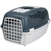 Фотография товара Бокс-переноска для собак и кошек Trixie Capri 3, размер 3, размер 40х38х61см., светло-серый / темно-серый