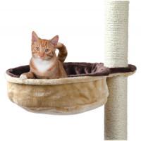 Фотография товара Гамак для кошек Trixie Cuddly Bag, размер 38см., бежевый / коричневый