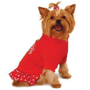 Толстовка для собак Triol Minnie XS, размер 18см., красный