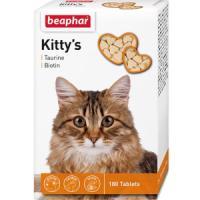 Фотография товара Витамины для кошек Beaphar Kitty's + Taurine-Biotine, 180 шт.