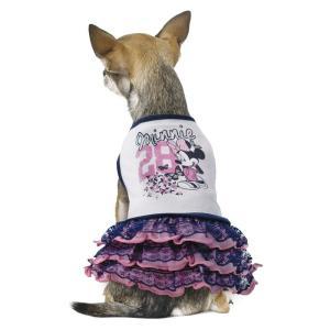 Платье для собак Triol Minnie Chic XS XS, 458 г, размер 20см., белый с фиолетовым