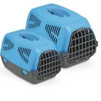 Фотография товара Переноска для собак и кошек MPS Sirio Little, размер 50х33.5х31см., голубой
