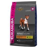 Фотография товара Корм для собак Eukanuba Adult Medium Breed, 15 кг, курица