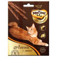 Фотография товара Лакомство для кошек Мнямс Деликатес, 12 г, лосось с манго