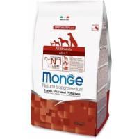 Фотография товара Корм для собак Monge Dog Speciality, 2.5 кг, ягненок с рисом и картофелем