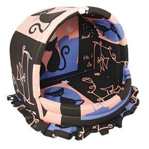 Домик для кошек и собак Гамма Эстрада L, размер 41х46х36см., цвета в ассортименте