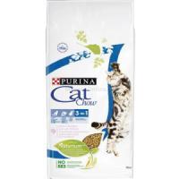 Фотография товара Корм для кошек Purina Cat Chow Feline 3 in 1, 15 кг, индейка