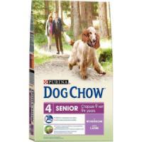 Фотография товара Корм для собак Purina Dog Chow Senior, 14 кг, ягненок