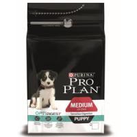 Фотография товара Корм для щенков Pro Plan Puppy Medium Sensitive Digestion, 3 кг, ягненок