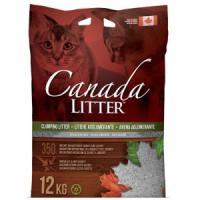 Фотография товара Наполнитель для кошачьего туалета Canada Litter Запах на замке, 12 кг