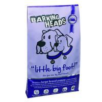 Фотография товара Корм для щенков Barking Heads Большелапый малыш, 18 кг, курица с лососем и рисом