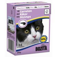 Фотография товара Корм для кошек Bozita Felline Shrimps, 370 г, креветки