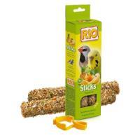 Фотография товара Палочки для волнистых попугайчиков и экзотов Rio Sticks, тропические фрукты