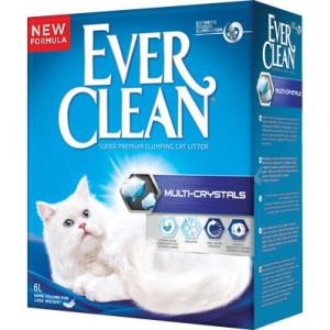 Наполнитель для кошачьего туалета Ever Clean Multi-Crystals, 6 кг