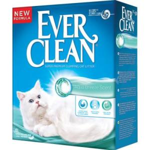 Наполнитель для кошачьего туалета Ever Clean Aqua Breeze, 6 кг