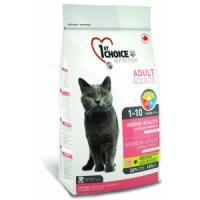 Фотография товара Корм для кошек 1st Choice Indoor Vitality, 5.44 кг, цыпленок