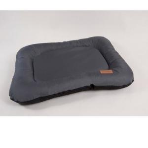 Лежак для собак Katsu Pontone Grazunka L, размер 88х73см., серый