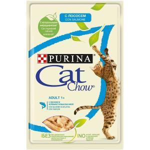 Корм для кошек Purina Cat Chow Adult, 85 г, лосось
