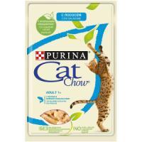 Фотография товара Корм для кошек Purina Cat Chow Adult, 85 г, лосось