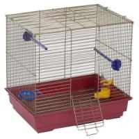 Фотография товара Клетка для птиц Велес Lusy Bird, 1 кг, размер 30х42х40см., золото