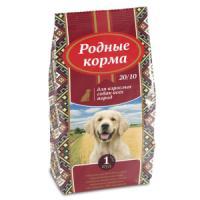 Фотография товара Корм для собак Родные корма 20/10, 16.38 кг, курица