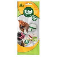 Фотография товара Кость для собак Triol BRH2-MIX-2P, 139 г, размер 6см.