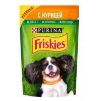 Фотография товара Корм для собак Friskies Adult, 85 г, курица
