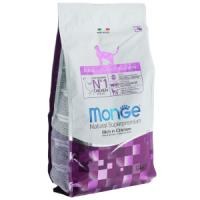 Фотография товара Monge Cat корм для кошек Monge, 1.5 кг, курица