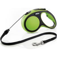 Фотография товара Рулетка для собак Flexi New Comfort M Cord, зеленый