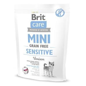 Корм для собак Brit Care MINI Sensitive, 400 г, оленина