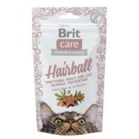 Фотография товара Лакомство для кошек Brit Care Hairball, 60 г, утка