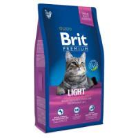 Фотография товара Корм для кошек Brit Premium Cat Light, 8 кг, курица и печень