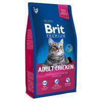 Фотография товара Корм для кошек Brit Premium Cat Adult Chicken, 800 г, курица и печень