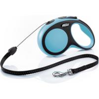 Фотография товара Поводок-рулетка для собак Flexi New Comfort S Cord, синий