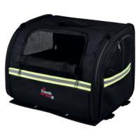 Фотография товара Сумка-переноска для собак Trixie Biker-Bag, размер 35×28×29см., черный