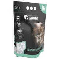 Фотография товара Наполнитель для кошачьего туалета Гамма Силикагель, 1.5 кг, силикагель, размер 28х37см., фиолетовый