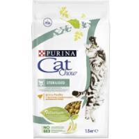 Фотография товара Корм для кошек Purina Cat Chow Sterilised, 2 кг, домашняя птица