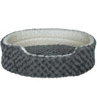 Фотография товара Лежак для собак Trixie Kaline S, размер 55х45см., серый / кремовый
