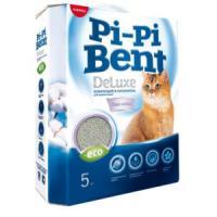 Фотография товара Наполнитель для кошачьего туалета Pi-Pi Bent DeLuxe Clean Cotton, 5 кг