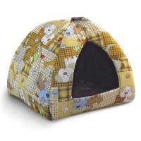 Фотография товара Домик для собак и кошек Гамма Дг-06000, размер 41х41х46см., цвета в ассортименте